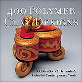 400 polymer clay designs book